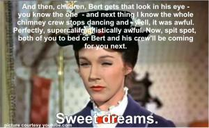Mary Poppins Inappropriate Story