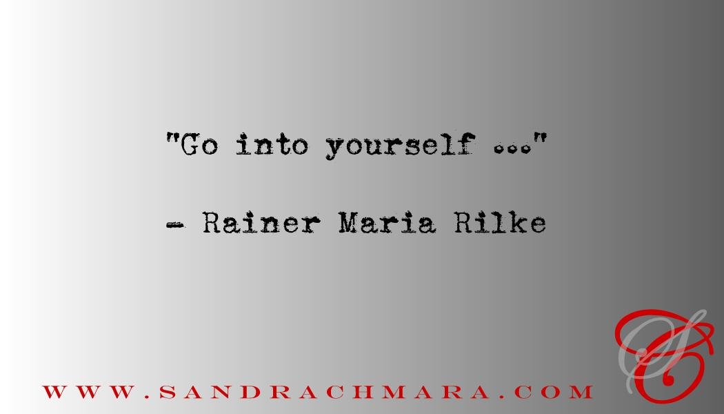 Writing Quote Rainer Maria Rilke Sandra Chmara Editing Writing