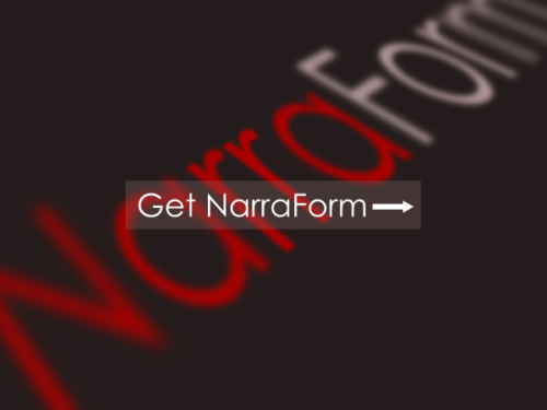 Get NarraForm - A Revolution For Writers